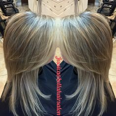 Natural highlights for blondes