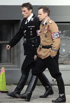 SS-Obergruppenführer: Rufus plays Nazi Lieutenant General John Smith in the show adapted from Phillip K. Dick's novel of the same name