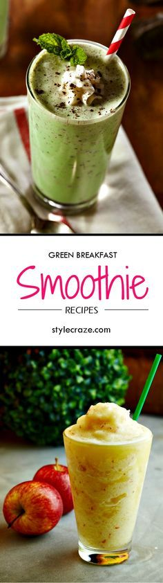 10 Mouth-Watering Green Breakfast Smoothie Recipes You Should Try