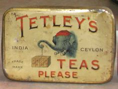 "In 1822, two brothers, Joseph and Edward Tetley, started to sell salt from a pack horse in Yorkshire.[3] They started to sell tea as well and became such a success that they set up as tea merchants, ""Joseph Tetley & Co."", in 1837. They relocated to London in 1856 and set up ""Joseph Tetley & Company, Wholesale Tea Dealers"". Tetley was the first company that launched tea in tea-bags in the United Kingdom in 1953. (Wikipedia) #teahistory"