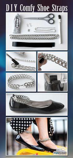 DIY Comfy Shoe Straps