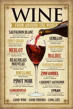 wine from around the world