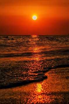 Gorgeous #sunset #ocean