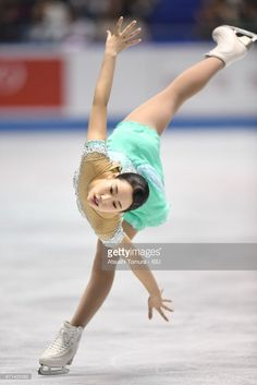 News Photo : Mai Mihara of Japan competes in the Ladies free...