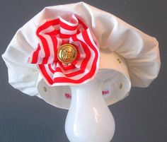 Nautical Hey Sailor Dog Beret Hat by KOCouture on Etsy, $40.00