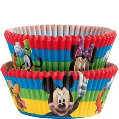Mickey Mouse Clubhouse Baking Cups 50ct - Party City