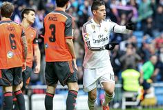 Real Madrid Players Wallpaper with 2015 - 2016 Squad - James Rodriguez