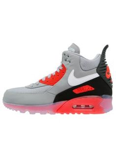big sale feacd 7f8e7 AIR MAX 90 SNEAKERBOOT ICE - Höga sneakers - wolf greywhiteanthraciteinfrared  - Zalando.se