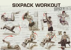THE BEST SIXPACK WORKOUT PLAN - Healthy Fitness Training Routine