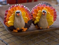 Thanksgiving Turkeys, Cupcake-Style - Thanksgiving.com