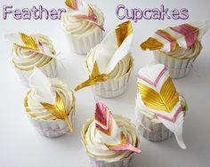 Tutorial: How to make Feather Cupcakes | CakeJournal.com