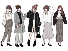 Character Outfits, Character Art, Character Design, Fashion Design Drawings, Fashion Sketches, Anime Outfits, Mode Outfits, Cute Art Styles, Dibujos Cute
