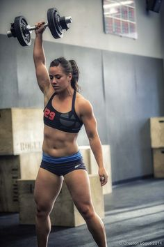 Camille Leblanc-Bazinet. The fittest on earth and my fav crossfit girl!!