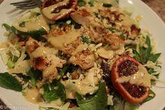 Crunchy Asian Chicken Salad - like the one from Applebee's! #Paleo #Glutenfree #Dairyfree