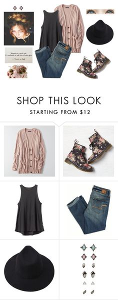 """f l o w e r s"" by julia-grace-dressed-in-lace ❤ liked on Polyvore featuring American Eagle Outfitters, RVCA and Brinley Co"