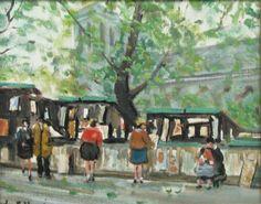 Jules-René Hervé - Art de la rue foire