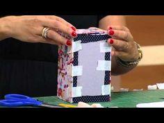 Mulher.com - 28/01/2016 - Caixa de batom com espelho em cartonagem - Ana Paula Viegas PT1 - YouTube