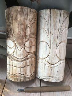 Tiki carving Tiki carving Related posts: No related posts. Wood Carving Faces, Dremel Wood Carving, Wood Carving Designs, Wood Carving Patterns, Wood Carving Art, Wood Patterns, Wood Art, Wood Wood, Painted Wood