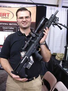Desert Tactical Arms Stealth Recon Scout Modular/Multi Caliber Bullpup Anti Materiel/Sniper Rifle for Military Special Operations Forces (SOF) and Civilian Tactical Shooters<!  :  >