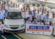 Canadauence TV: Chevrolet Onix atingiu a marca de 500 mil unidades...