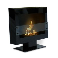Shop for Tribeca II Floor Standing Bio Ethanol Ventless Fireplace. Get free delivery On EVERYTHING* Overstock - Your Online Home Decor Outlet Store! Get in rewards with Club O! Biofuel Fireplace, Bioethanol Fireplace, Gas Fireplace, Indoor Fireplaces, Modern Fireplace, Fireplace Design, Portable Fireplace, Electric Fireplaces, Fireplace Furniture