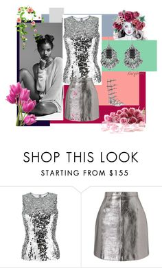 """Flowers and Youth"" by michelle858 ❤ liked on Polyvore featuring Dolce&Gabbana, Miss Selfridge and Giuseppe Zanotti"