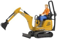 Bruder Jcb Micro Excavator 8010 Cts and Construction Worker (Colors May Vary) Incredible realistic detail. Manufactured from high-quality plastics such as abs. Scale model Suitable for playing indoors and outdoors. Amazon Christmas Gifts, Popular Christmas Gifts, Sports Games For Kids, Play Vehicles, Mini Excavator, Anime Cosplay Costumes, Construction Worker, Lego City, Scale Models