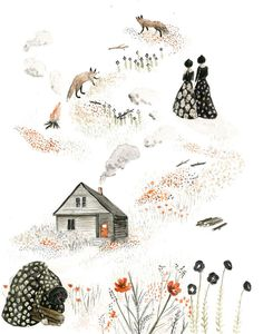 Sarah Burwash, title unknown - mixed media(?)