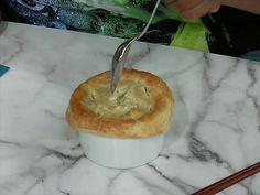 Chicken-Ramen Pot Pies - tip: Freeze and bake from frozen