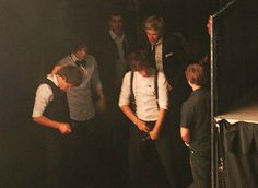 lou just finishing up with haz or a wardrobe malfunction? you decide...;)