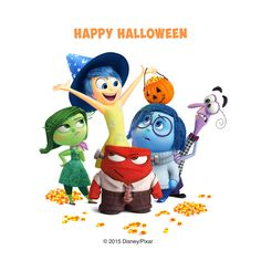 Halloween Party Recipes from Disney-Pixar's Inside Out Halloween Arts And Crafts, Halloween Food For Party, Disney Halloween, Fall Halloween, Happy Halloween, Halloween Ideas, Disney Pixar, Run Disney, Disney Love