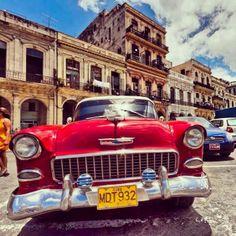 Old car in Havana.