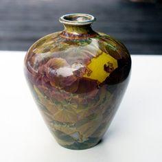 Crystalline Pottery vase. Etsy.  Jon Price.