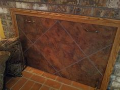 Build a fireplace insert draft stopper a lowes creator idea my fireplace cover more draft in our house it is like a fireplace cover diy solutioingenieria Images