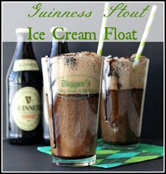 Guinness Stout Ice Cream Float