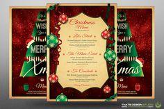 Christmas Menu Template V7 by Thats Design Studio on Creative Market