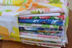 Paper Free Home Starter Set- 24 Large Cloth Napkins- Vintage Fabrics, Florals  by Dot and Army