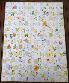 Red Pepper Quilts: Vintage Style - a la Grand-mère ~ A Finished Quilt