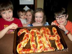 Think big with pizza - Fun Ideas for Hosting a Kid-Friendly New Year's Eve Party - Photos