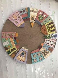 Mosaico mandala CASAS