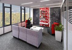 Pomieszczenia chilloutowe dla Unicredit Warszawa / Chillout rooms, Unicredit Warsaw