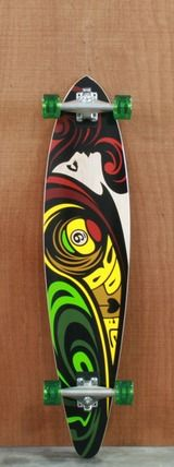 "sector+9+mama+say+rasta | ... \ Sector 9 Longboards \ Sector 9 40"" Mama Say Rasta Complete"