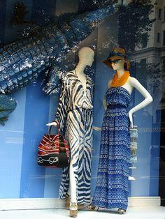 Bergdorf Window Displays