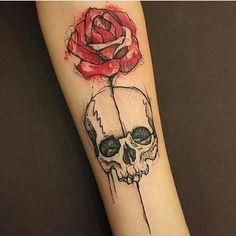 #Tattoo @marcellaalvestattoo • INSPIR∆TIONS T∆TTOO • #tat #tatuagem #tattoos…