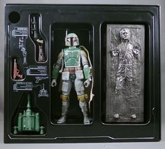 Star Wars Black Series Boba Fett Han Solo in Carbonite SDCC Exclusive New | eBay