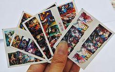 5-Sheets-Super-Hero-Nail-wrap-Poison-Ivy-Batman-Captain-America-Harley-Quinn