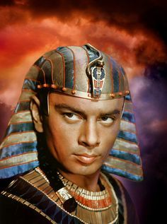 """Rameses"", as portrayed by Yul Brynner, in ""The Ten Commandments"" (1956)."