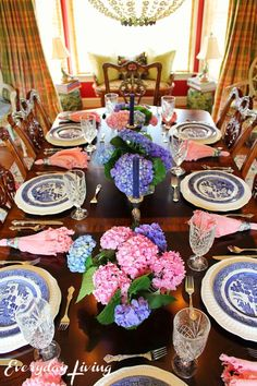Tablescape Tuesday: Weekend Showers – Everyday Living