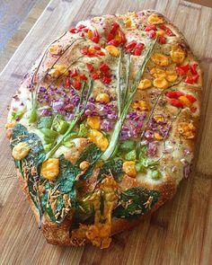 This Home Baker's Gorgeous Rye Bread Could Start A Revolution Bread Art, Rye Bread, Bread Rolls, Sicilian Recipes, Sicilian Food, Artisan Bread, Food Presentation, Creative Food, Bread Baking