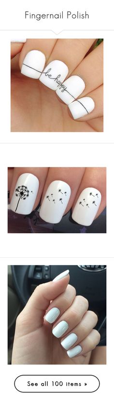 """""""Fingernail Polish"""" by kuropirate ❤ liked on Polyvore featuring accessories, beauty products, nail care, nail treatments, nails, nail polish, beauty, bath & beauty, grey and makeup & cosmetics"""